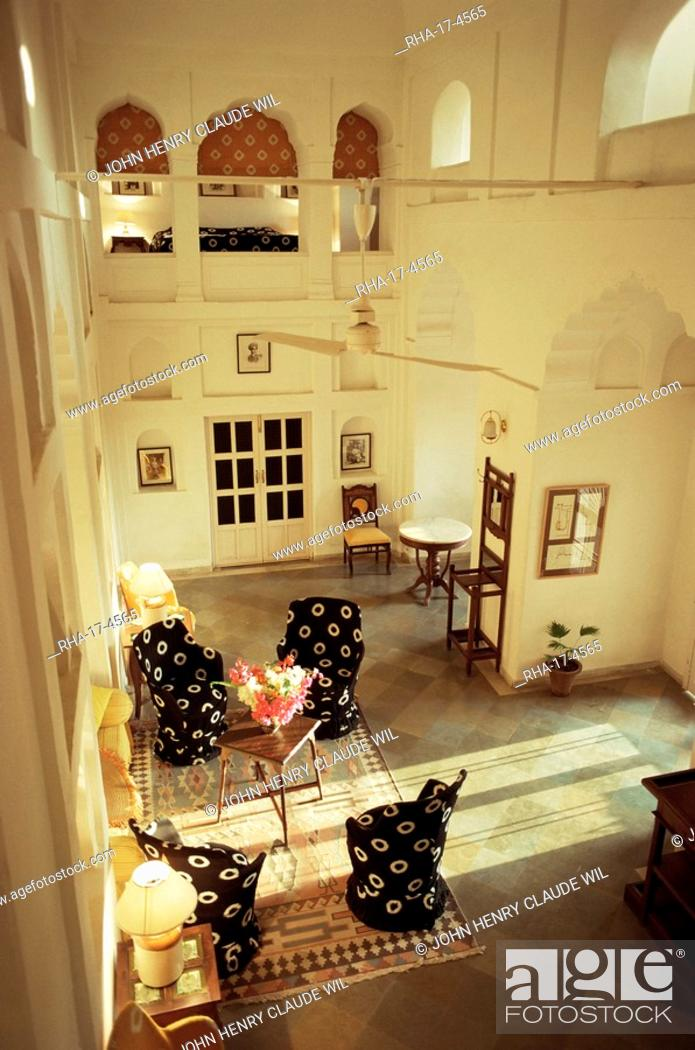 Private Sitting Area In One Of The Bedroom Suites Neemrana