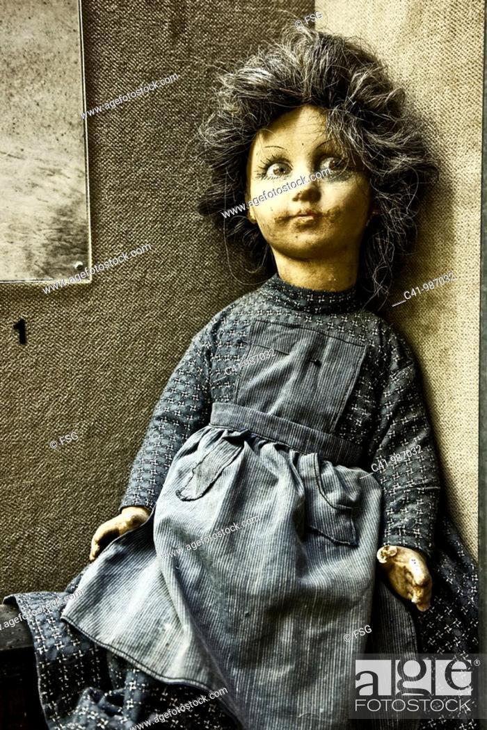 Stock Photo: crappy doll.