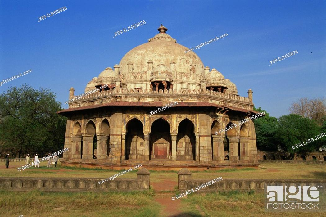 Imagen: Asia, India, New Delhi, Humayun Tomb, The Octagonal Tomb of Isa Khan.
