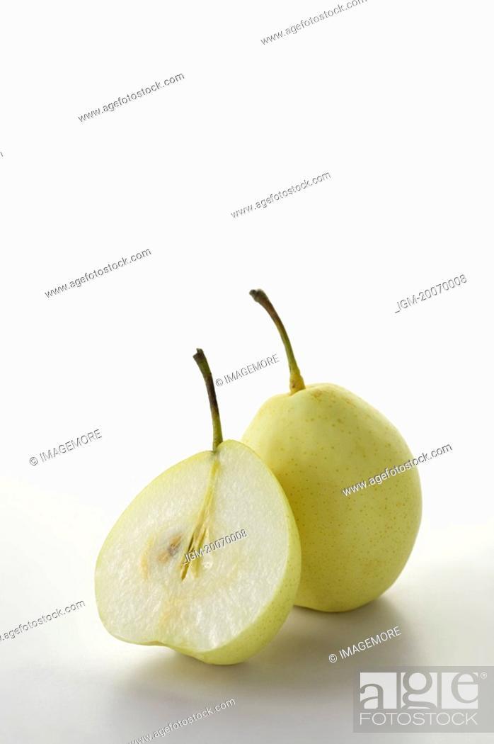 Stock Photo: Asian Pear, Pear.
