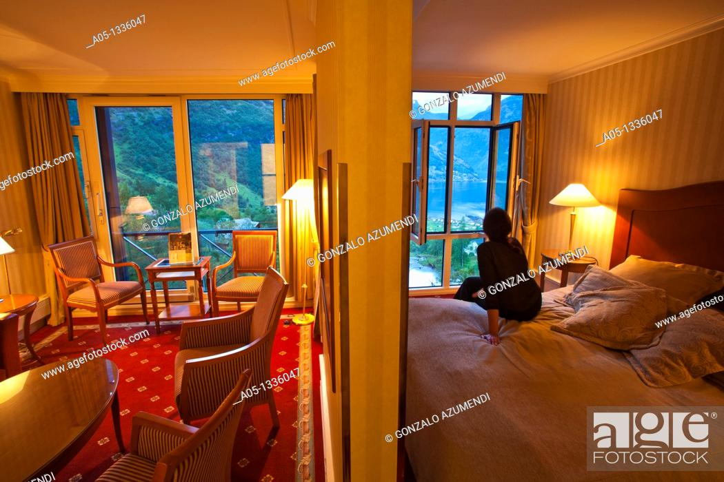 Stock Photo: Union Hotel  Geiranger More & Romsdal. Norway.
