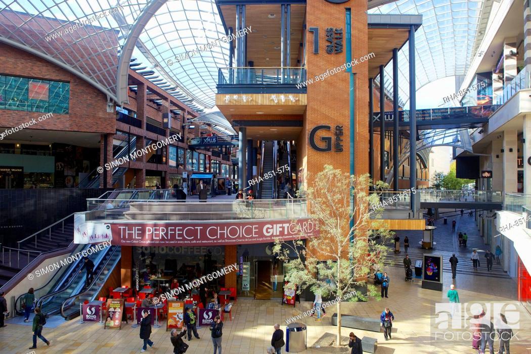 958806c002fa1 Stock Photo - Cabot Circus shopping centre in Bristol