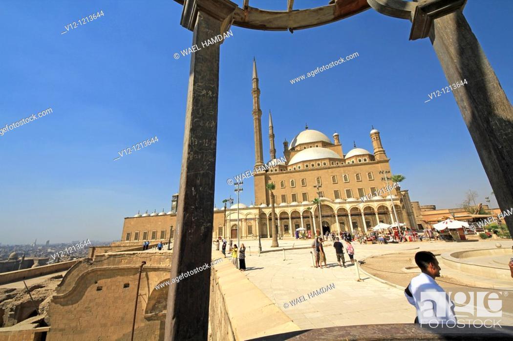 Stock Photo: Mohamed Ali Mosque. Cairo. Egypt.