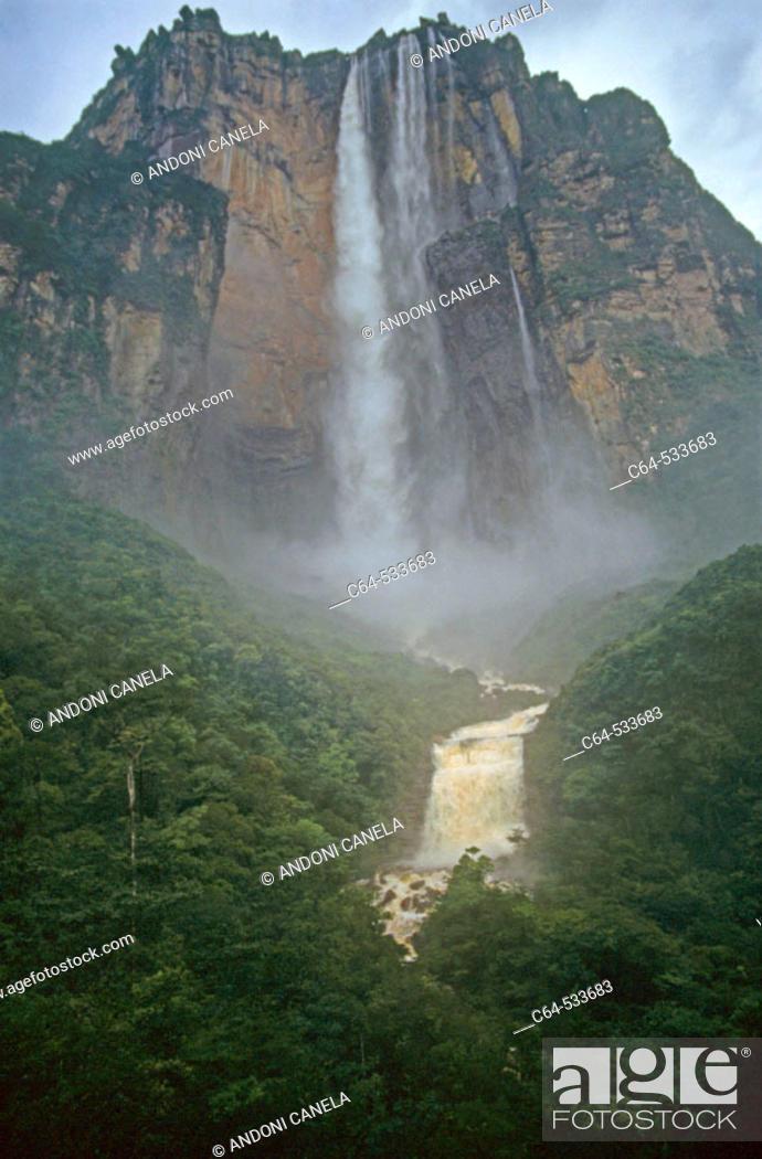 Stock Photo: Tepuis, Venezuela.