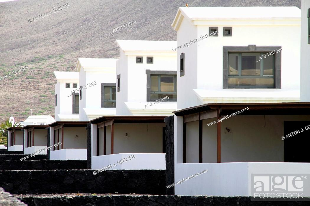 Stock Photo: Houses, Buildings, canary islands.