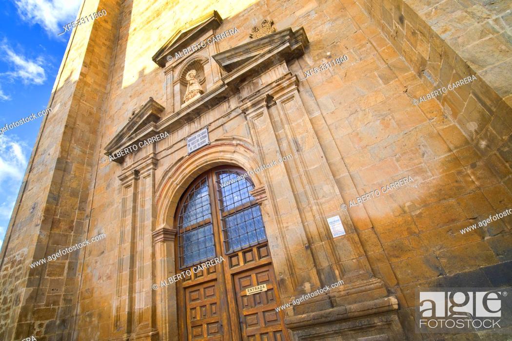 Stock Photo: Basilica of Nuestra Señora de los Milagros, 16th Gothic-Renaissance Style, Ágreda, Soria, Castilla y León, Spain, Europe.