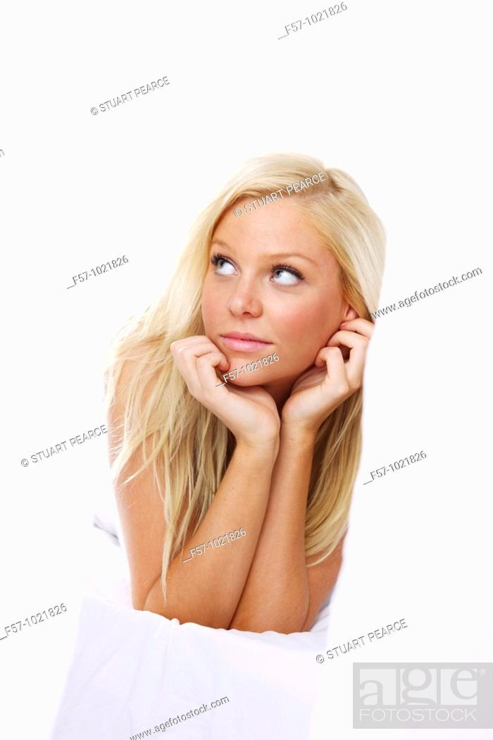 Stock Photo: Portrait of sexy woman.