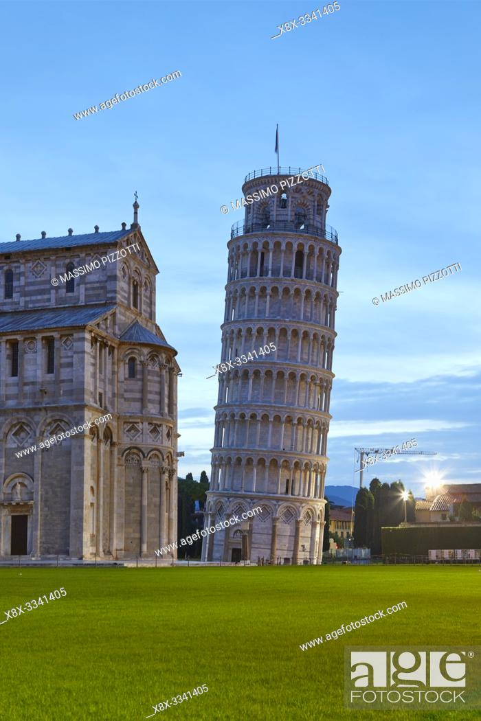 Imagen: The Duomo and the leaning tower of Pisa, Italy.