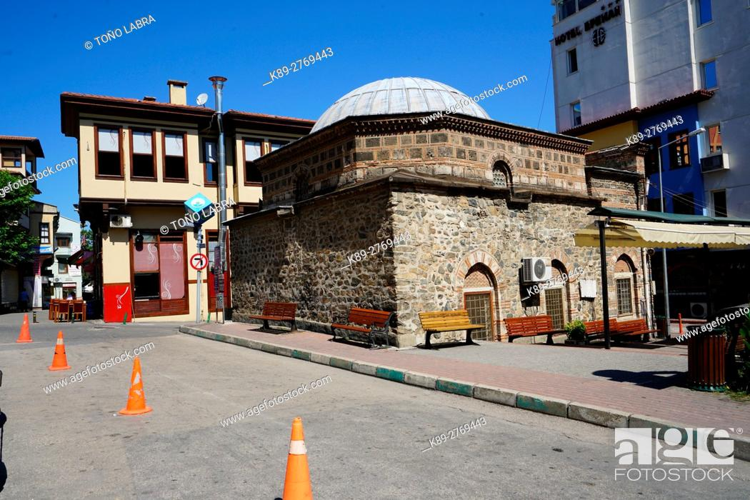 Stock Photo: Koca Ahmet Mosque (The Wife of Ahmet). Early Ottoman style. Bursa. Turkey.