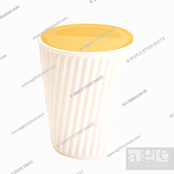 Imagen: takeout coffee cup.