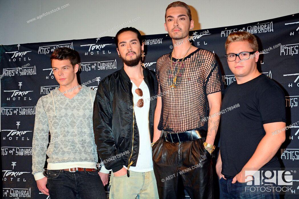 Tokio Hotel promoting their new album Kings of Suburbia at