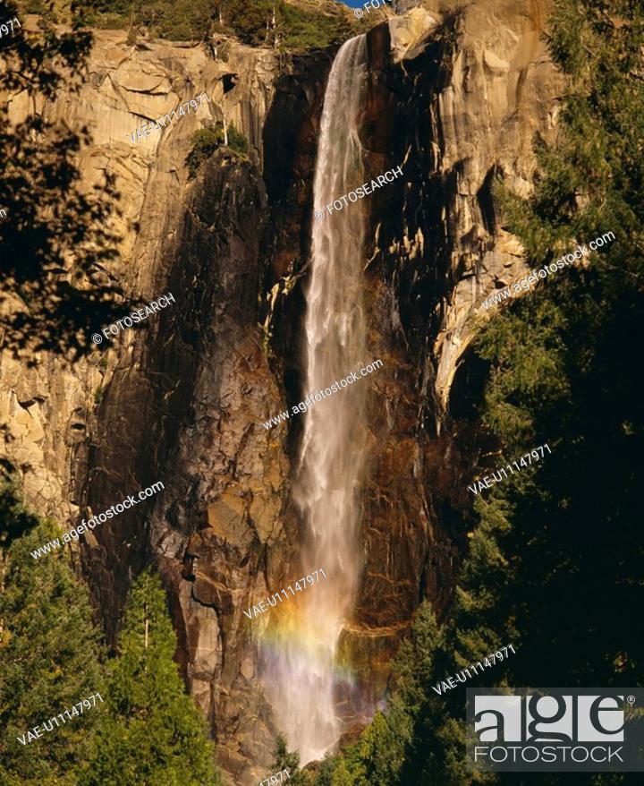 Stock Photo: Bridal Vail Falls.
