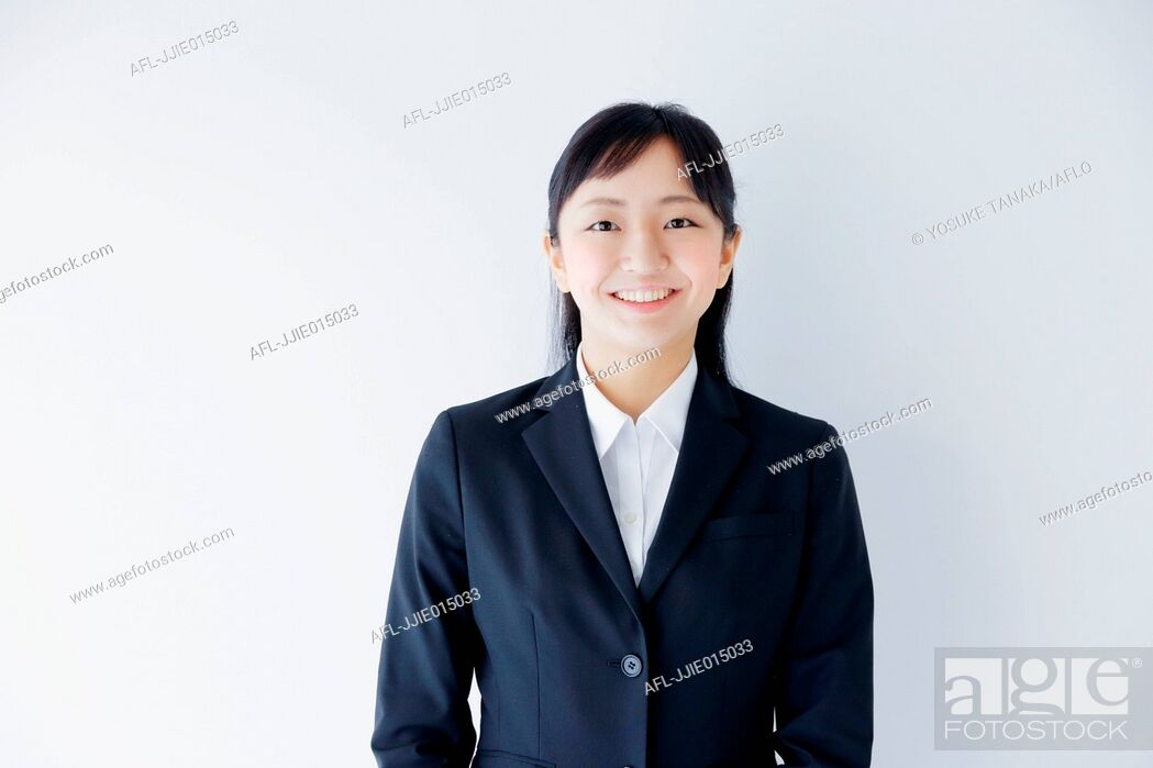 Stock Photo: Japanese young businesswoman.