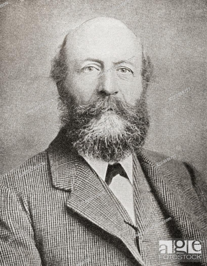 "Stock Photo: George Cadbury, 1839 â. "" 1922. Son of John Cadbury who founded Cadbury's cocoa and chocolate company. From The Business Encyclopaedia and Legal Adviser."