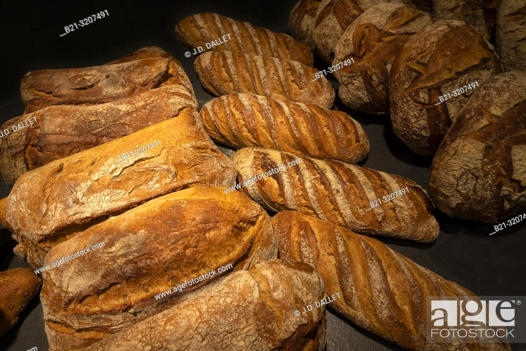 Photo de stock: France. Food. french breads.