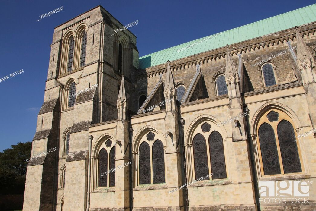 Stock Photo: Chichester Cathedral West Sussex.