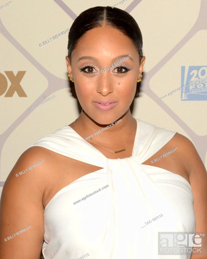 Stock Photo: Actress Tamera Darvette Mowry-Housley attends the 67th Primetime Emmy Awards Fox after party on September 20, 2015 in Los Angeles, California.
