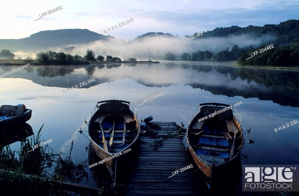 Stock Photo: Europe, England, Cumbria, Grasmere, Lake District.