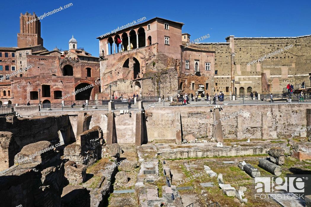 Photo de stock: Forum Romanum, ancient Rome.