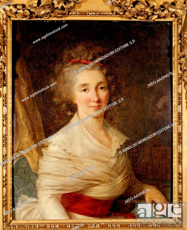 Imagen: Portrait of Madame de La Fayette, 17th Century.