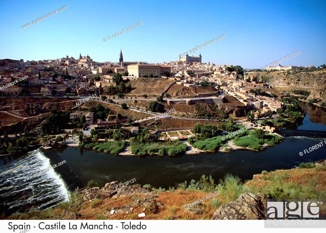 Stock Photo: Spain - Toledo - Castile Spain.