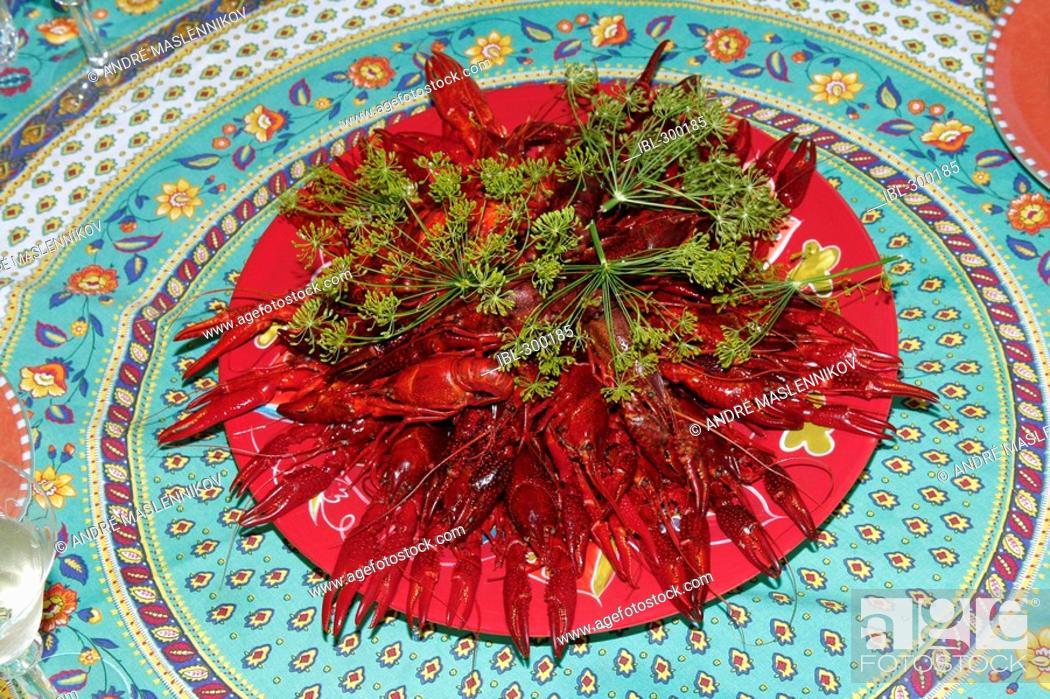 Stock Photo: Crayfishes.