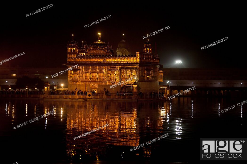 Stock Photo: The Golden Temple.