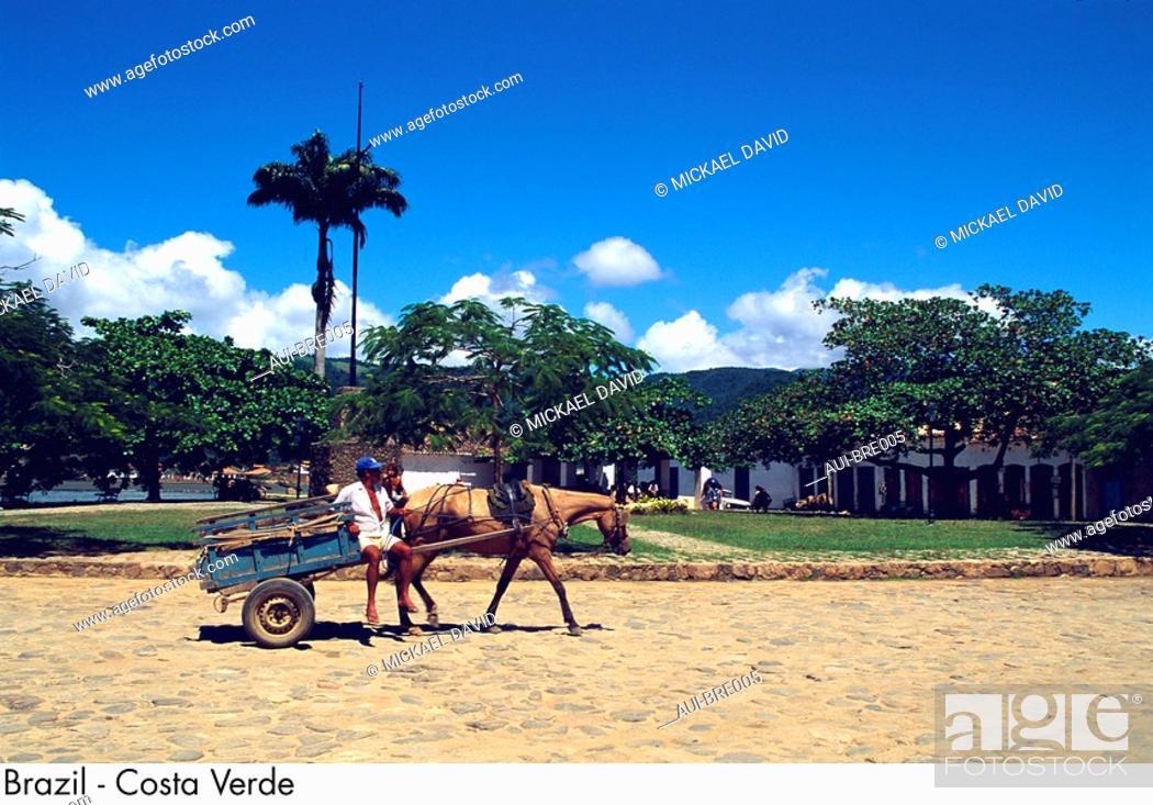 Stock Photo: Brazil - Costa Verde.