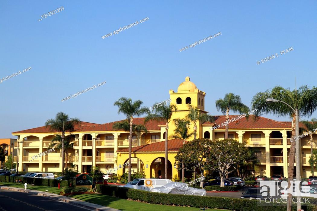 Stock Photo: La Quinta Inn & Suites Orange County Airport, Santa Ana, California, United States.