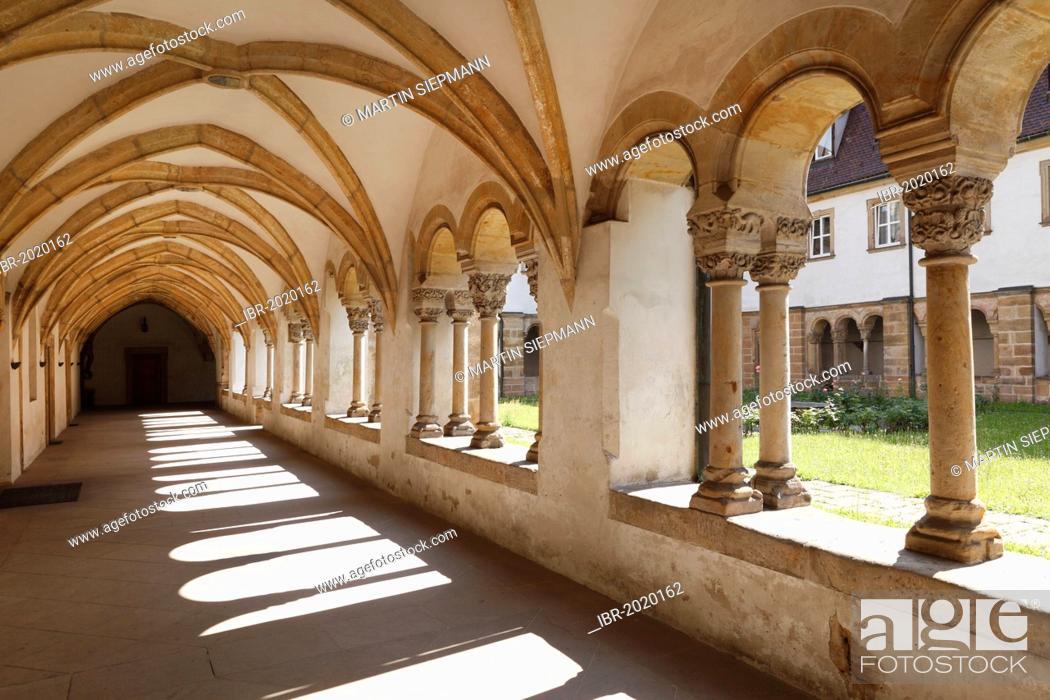 Cloister, Carmelite Monastery, Bamberg, Upper Franconia