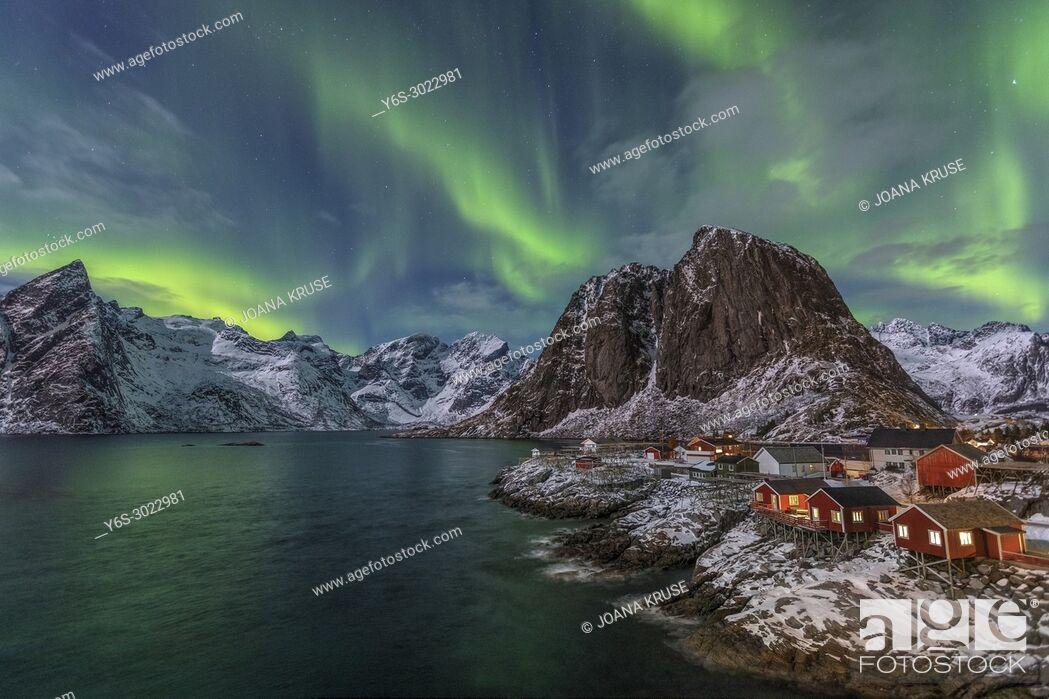 Imagen: Reine, Lofoten, Norway, Europe.