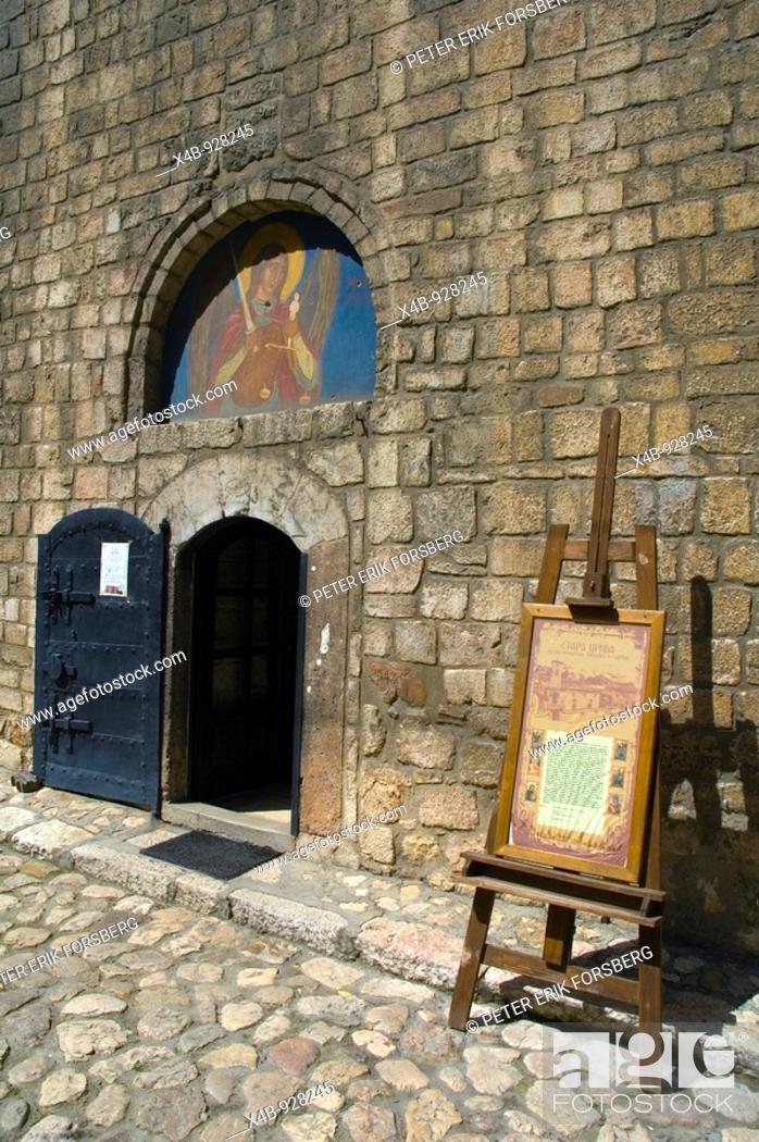 Stock Photo: Old Serbian Orthodox Church Sarajevo Bosnia Herzegovina Europe.