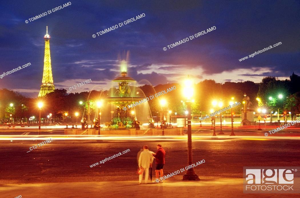 Stock Photo: Paris, Place de la Concorde.