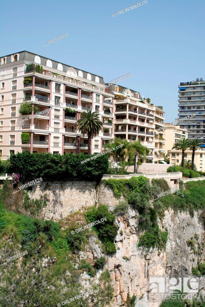 Stock Photo: Architecture of Monaco.