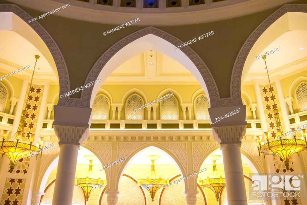 Stock Photo: Chic interior of the Dubai Mall, Dubai.