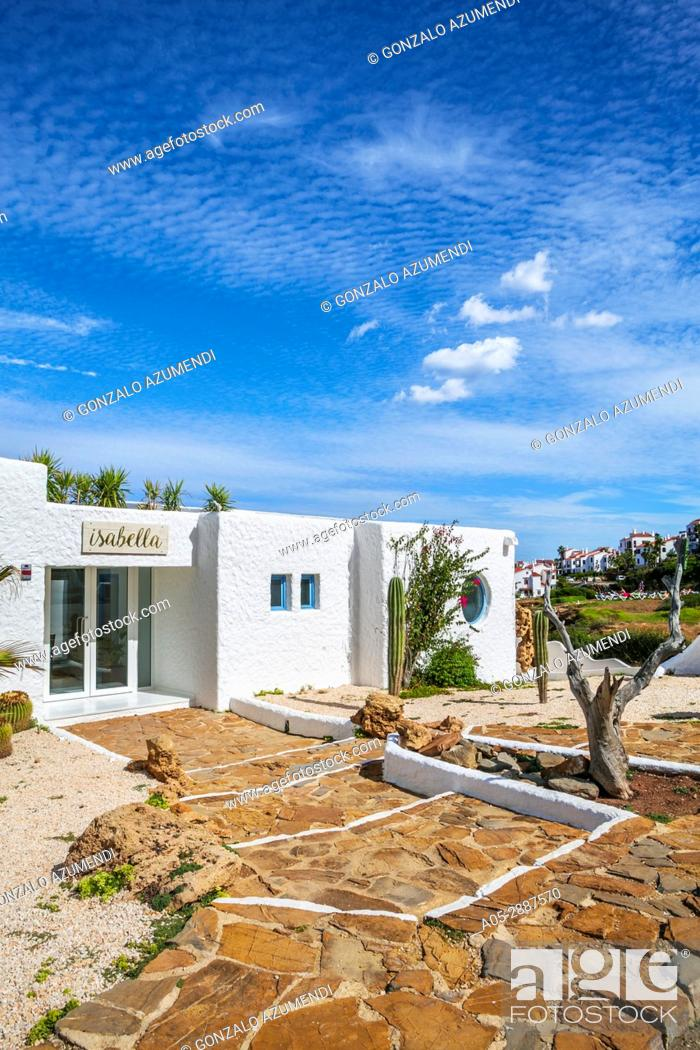 Imagen: Isabella Beach Club. Playas de Fornells. Fornells . Es Mercadal Municipality. Minorca Island. Balearic Islands. Spain.