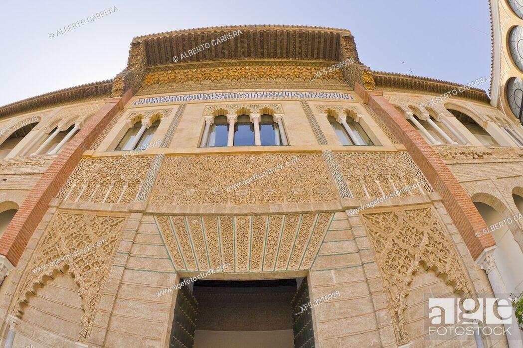 Imagen: Royal Alcazar of Sevilla, Old Town, Historical Center, Sevilla, Andalucía, Spain, Europe.