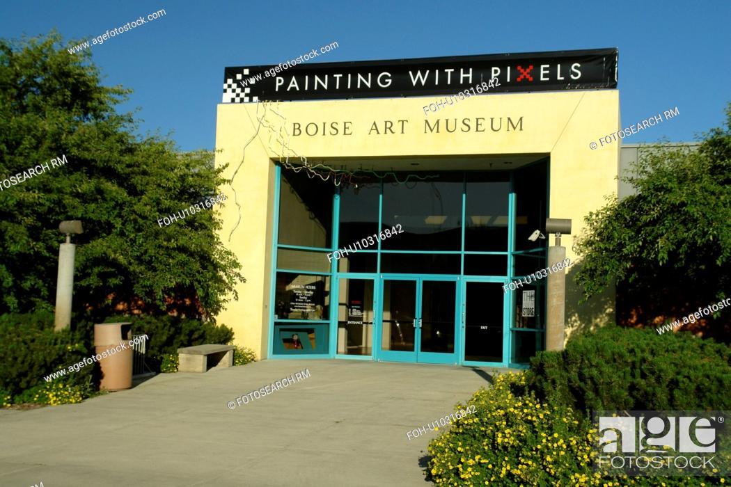 Stock Photo: Boise, ID, Idaho, Boise Art Museum, Julia David Park.
