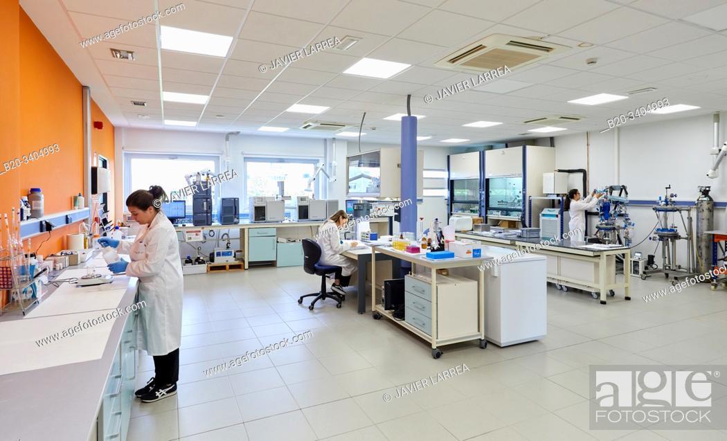 Stock Photo: Biotechnology Laboratory, Food industry, Unit of Health, Technology Centre, Tecnalia Research & Innovation, Miñano, Alava, Basque Country, Spain.