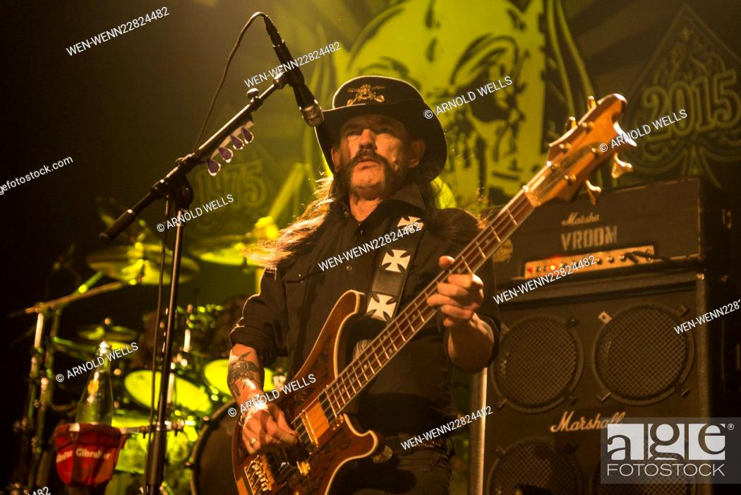 Lemmy Kilmister of Motorhead performs live in Austin, Texas