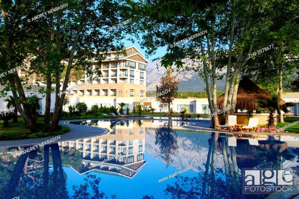 Stock Photo: Vogue Hotel, Antalya, Turkey, Western Asia.