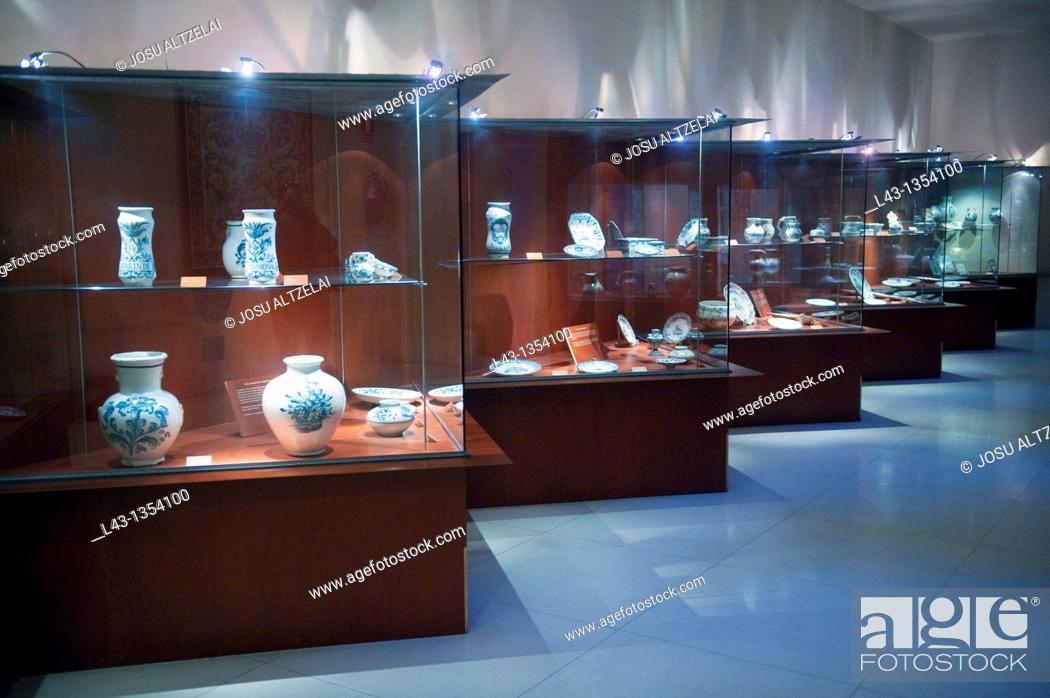Stock Photo: 'Ruiz de Luna' ceramic museum, Talavera de La Reina, Toledo, Castile La Mancha, Spain.