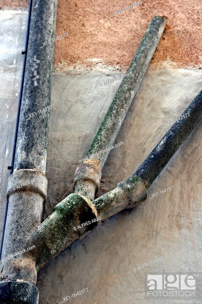 Stock Photo: Pipes, Matadepera, Catalonia, Spain.