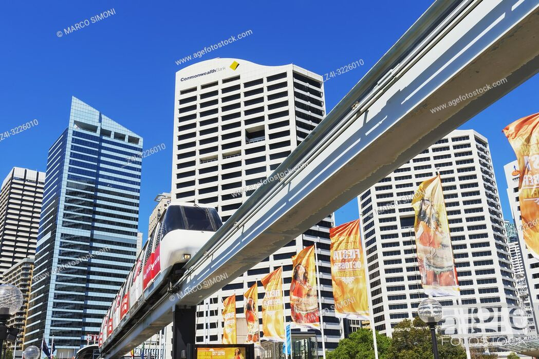 Imagen: Monorail, Sydney, New South Wales, Australia,.