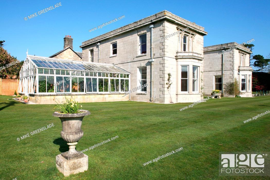 Imagen: Scorrier House, Scorrier, Cornwall, UK.