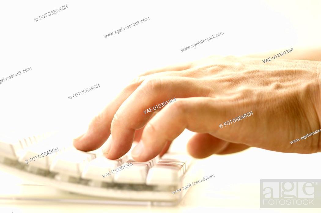 Stock Photo: Hand.