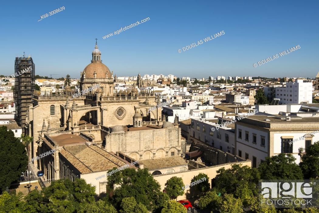 Photo de stock: The cathedral in Jerez de la Frontera, Cadiz province, Andalucia, Spain.
