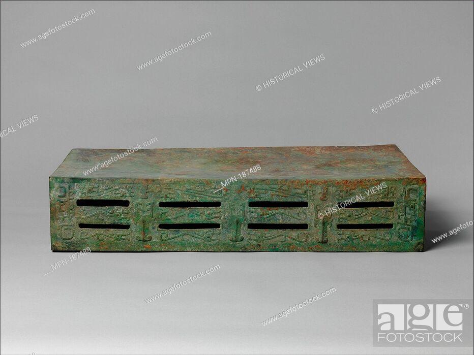Stock Photo: Period: Western Zhou dynasty (1046-771 B.C.); Date: late 11th century B.C; Culture: China; Medium: Bronze; Dimensions: H. 7 1/8 in. (18.1 cm); W.