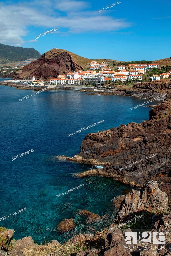 Stock Photo: PONTA DAS GAIVOTAS, QUINTA DO LORTE, LUXURY COMPLEX, CANICAL, MADEIRA, PORTUGAL.