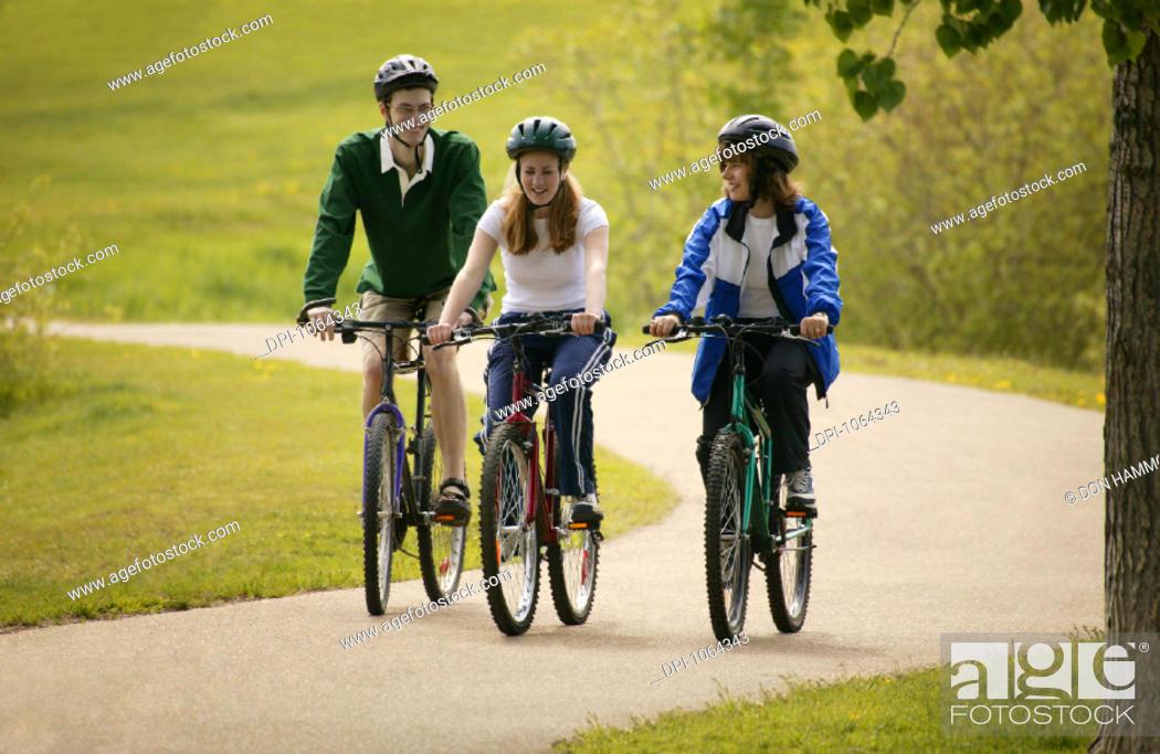 Stock Photo: Cycling.